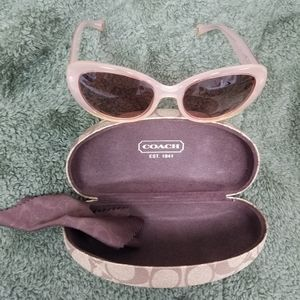 Coach Alexa Sunglases Rose Pink